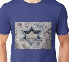 Star of David  in mosaic - Judaism Unisex T-Shirt