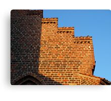 Details of bricks wall background Canvas Print