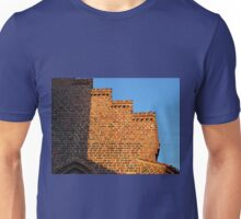 Details of bricks wall background Unisex T-Shirt