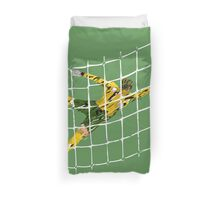 Goal keeper Duvet Cover