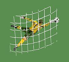 Goal keeper by Grobie