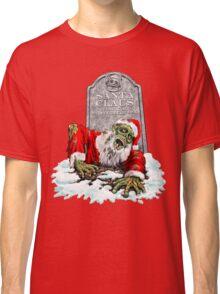 Zombie Christmas Horror Classic T-Shirt