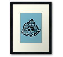 Goonies' Word! Framed Print