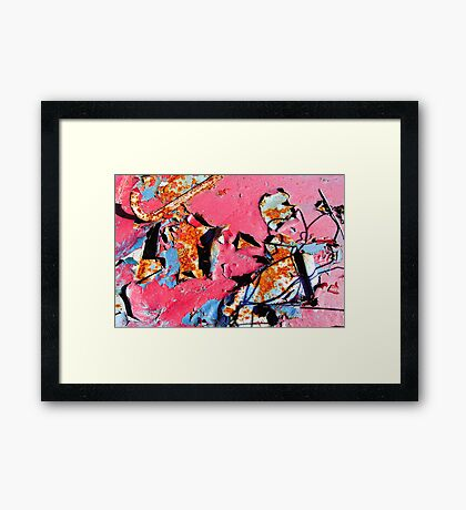 Before Troy (temporal arrows and slings) Framed Print