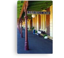 Junee Railway Station Canvas Print