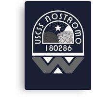 USCSS Nostromo Crew Logo Canvas Print
