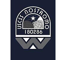 USCSS Nostromo Crew Logo Photographic Print