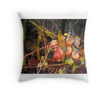 Red Thorn Throw Pillow