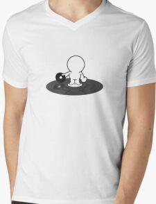 Pinhead in a Spin Mens V-Neck T-Shirt