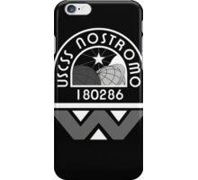 USCSS Nostromo Crew Logo iPhone Case/Skin