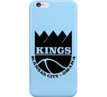 Kansas City Kings Omaha iPhone Case/Skin