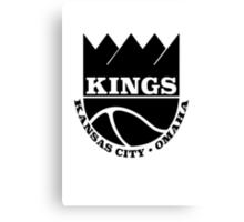 Kansas City Kings Omaha Canvas Print