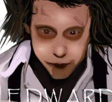 Edward Razorhands Sticker