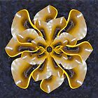 marine grade recycled plastic lotus (yellow) by rups