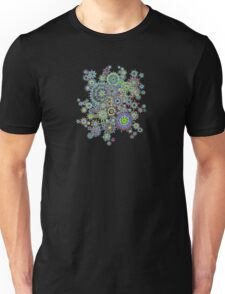 Rainbow Snow Unisex T-Shirt