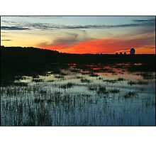 Goonhilly sunset ( AS IS ) Photographic Print