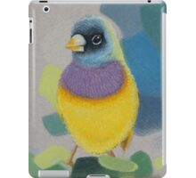 Bird Lady Gouldian Finch iPad Case/Skin