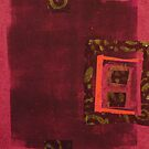 Magenta Chine Colle No. 1 by Susan Grissom