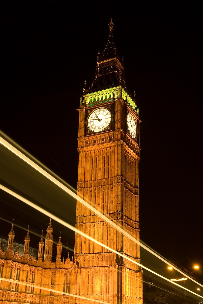 Westminster Clock Tower by Craig Goldsmith