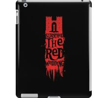 I Survived the Red Wedding iPad Case/Skin