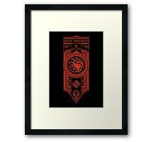House Targaryen Framed Print