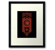 House of Dragons Framed Print