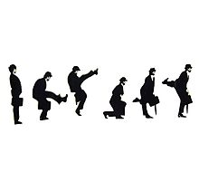 Silly Walk Photographic Print