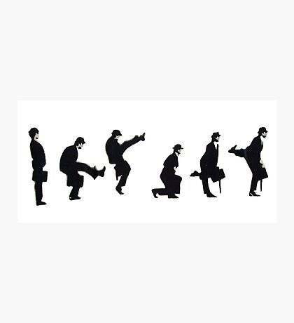 Silly Walk by Banksy Photographic Print