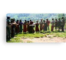 Pygmys of Uganda Metal Print