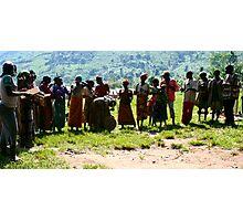Pygmys of Uganda Photographic Print