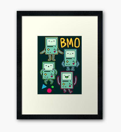 BMO Expressions Framed Print