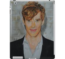 Benedict Cumberbatch- Coloured portrait iPad Case/Skin