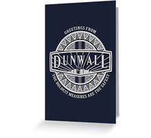 Greetings from Dunwall Greeting Card