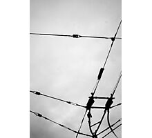 Trolly Lines Photographic Print