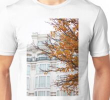 autumn in madrid. plaza santana Unisex T-Shirt