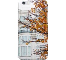 autumn in madrid. plaza santana iPhone Case/Skin