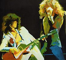 Just the Best. Robert Plant and Jimmy Page  by ArtspaceTF