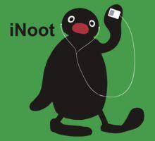 iNoot - Pingu iPod Silhouette T-Shirt