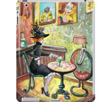The Lautrec Girl In A Ruin Bar In Budapest iPad Case/Skin