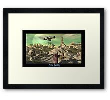 Crash Landing Framed Print