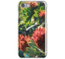 Off the beaten track (2012) Oil on canvas iPhone Case/Skin