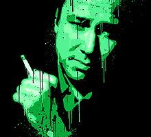 Bill Hicks (green) by trev4000