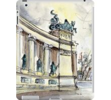 The Millennium Monument In Budapest iPad Case/Skin