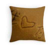"""Wo Ai Ni"" Throw Pillow"