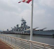 Battleship New Jersey by Matthew Williams