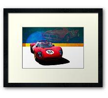 1966 Ferrari SP206 Replica Framed Print