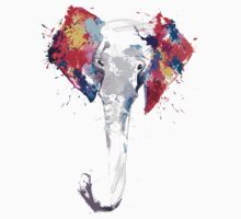 Elephant Art Kids Tee