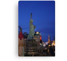 Vegas Strip: New York-NewYork Canvas Print