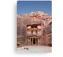 Petra´s Treasury Canvas Print