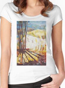 My Nature Women's Fitted Scoop T-Shirt